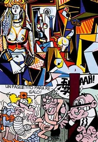 hommage à picasso by erró