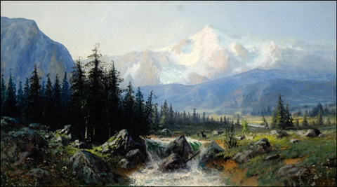 rocky mountains by george ernest colby