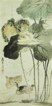 轴 纸本 by huang shen