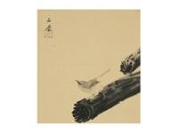 sparrow by gyokudo kawai