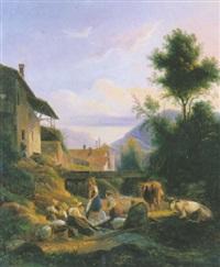 voreppe - les lavandières by isidore dagnan