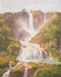 la cascata delle marmore by salomon corrodi