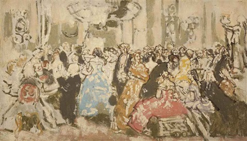 study for glencora after john gilbert by walter richard sickert