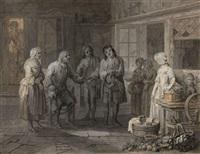 la demande en mariage by louis nicolas van blarenberghe