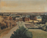 paysage by leopold-levy