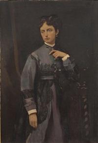 portrait de femme by victor fontaine