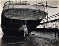 boat, bay city (san francisco by brett weston