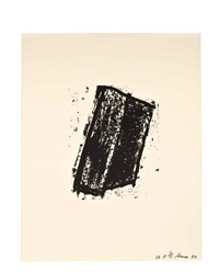 sketch #1 - #7 (set of 7) by richard serra