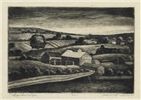 landscape by james lesesne wells