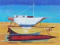 barca en reparacion by vicente forte