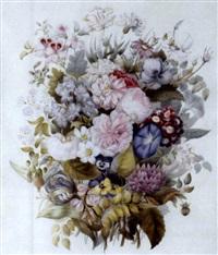 bouquet de fleurs by lise godard