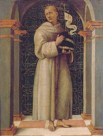 San Bernardino of Siena by Eus...
