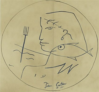 artwork by jean cocteau