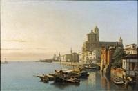 le port d'alméria by françois antoine bossuet