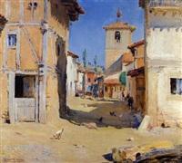 día soleado en la aldea by marceliano santamaria y sedano