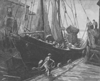 dock workers by henry j. billings