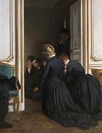 la dernière prière by jules emile saintin