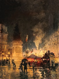 place de la republique, paris by siebe johannes ten cate