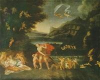 vénus et adonis by albane