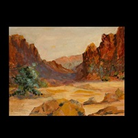 desert landscape by r. brownell mcgrew