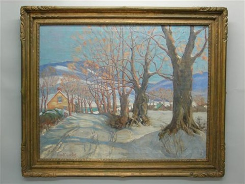 december shadows by fern isabel coppedge