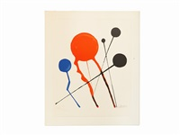composition (balloons) by alexander calder