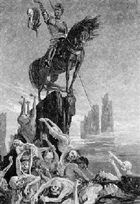 la vengeance horrible, d'après un roman de gogol by vassili golikov
