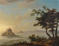 vue du mont saint-michel depuis avranches by hendrik frans de cort