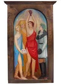 les quatre saisons by angel zárraga