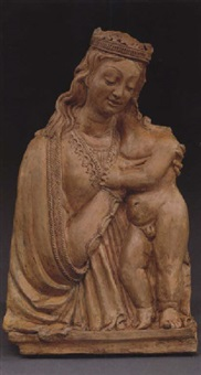 the virgin and child by french school-savoy (16)