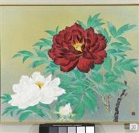 flower in spring by okazaki tadao