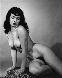 bettie page by morris glassman