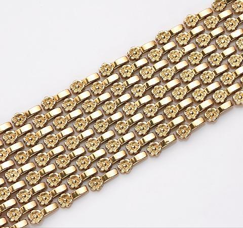 wide bracelet by oro fiorentino