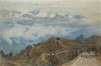 kanchenjunga from darjeeling by robert weir allen