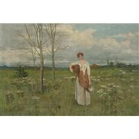 through the meadows by arthur hoeber