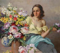 spring flowers by marcel krasicky