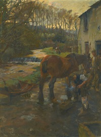 the village farrier by harold harvey