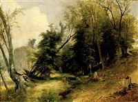 view from the woodlands by asher brown durand