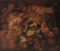 nature morte aux fruits by simon saint-jean