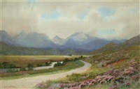 glen spean (+ skye; pair) by george drummond fish