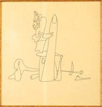 composition surrealiste i by yves tanguy