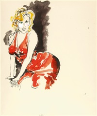 marilyn by renato guttuso
