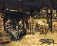 intérieur normand by édouard joseph dantan