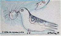 l'oiseau by corneille