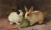 rabbits by edward robert physick