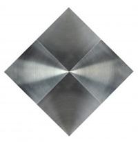 getulio alviani superficie tornita 4 di quadrato disco by getulio alviani