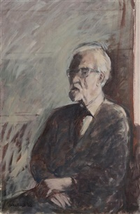 portrait of john hewitt by brian ballard