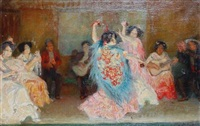 spanish dancers by claude marks