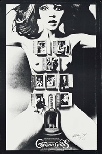andy warhol/chelsea girls by alan aldridge