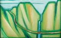 pejzaż górski - zubrzyca by jerzy nowosielski